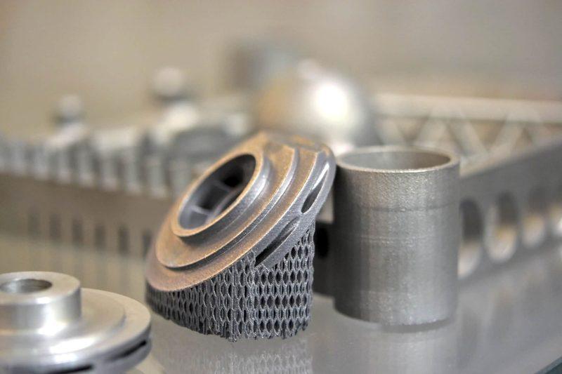 Metalni delovi proizvedeni na 3D štampaču